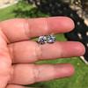 4.08ctw Old European Cut Diamond Pair, GIA I VS2, I SI1 2