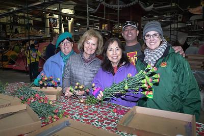 Huntington Library Float Has Flower Power