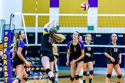 HS Sports - DeForest JV Volleyball - Sept 29, 2016