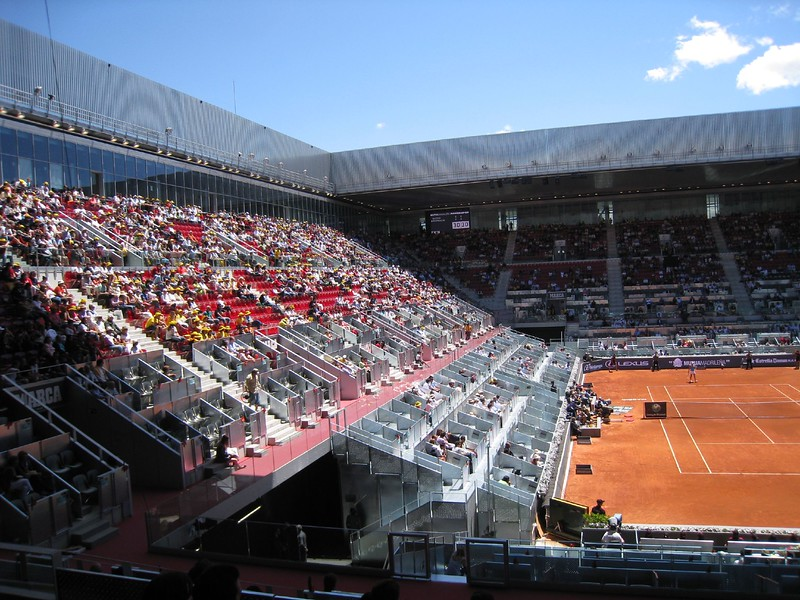 Madrid Open Center Court - Caja Magique with retractable roof (2)