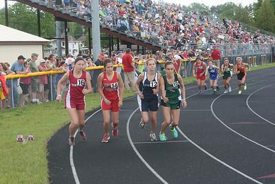 UP Girls 3200M - 2013 MHSAA UP Track Finals