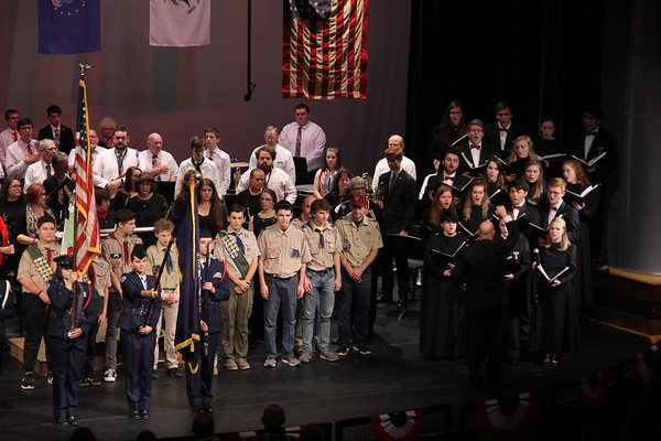 20181111 Timberlane Community Band Veterans' Day Concert