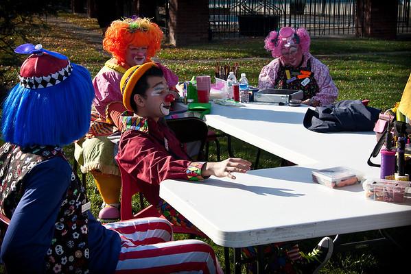 Braeburn Village Halloween Parade 2011