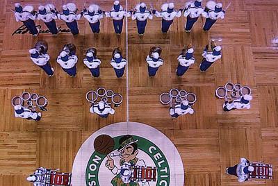 Drum Line @ Boston Celtics
