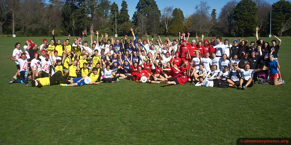 NZ University Ultimate Championships - 2014
