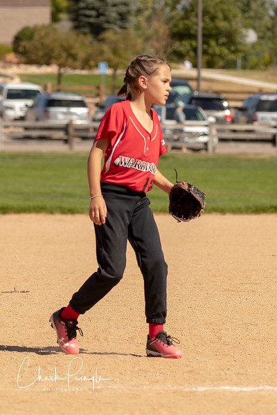 2018 Sept 8 Addison's Softball Game Pitching