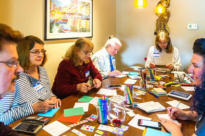 """""""Postcards to Voters"""" writing party"""