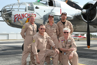 24/Seven Magazine takes a ride on b-25j bomber  March 27, 2009