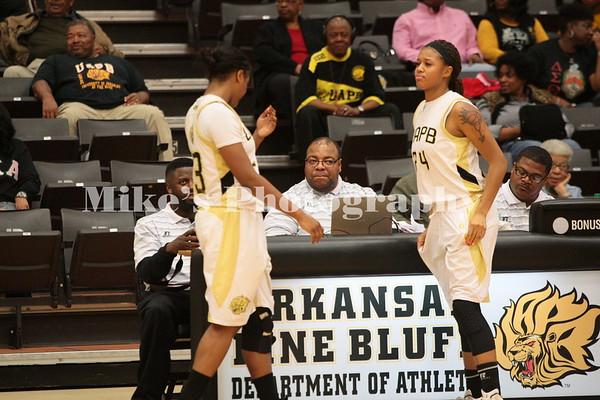 UAPB vs Southern Basketball Women 2-14-15