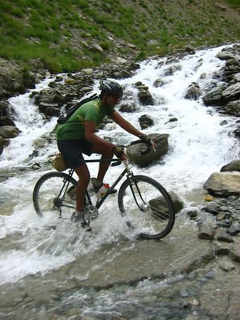 cycling indian himalayas, aug 2005