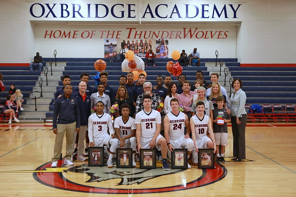 Oxbridge Basketball Senior Night 2017