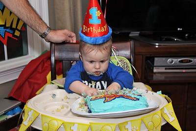 Garon's 1st Birthday
