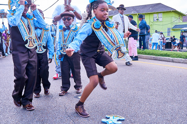 Family Ties Second Line - 2018