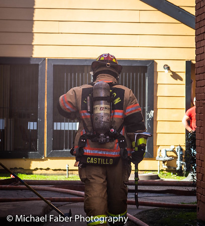 Apartment Fire 01/09/2019