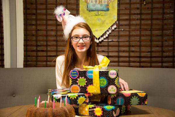 Catalina's 12th Birthday