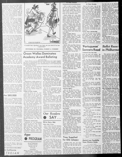 Daily Trojan, Vol. 33, No. 69, December 24, 1941