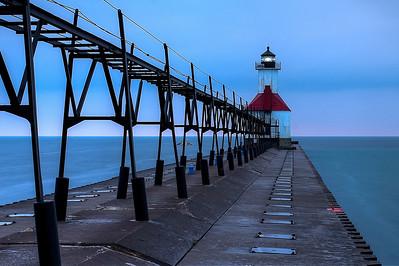 Michigan Lighthouse Guide - Saint Joseph