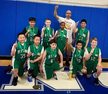 6th Grade Boys CYO Basketball