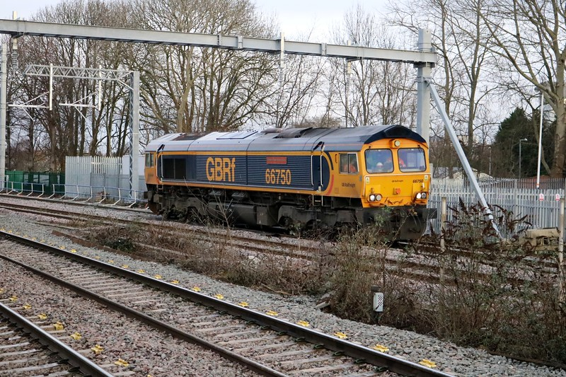 66750 back with the first circular route learning trip