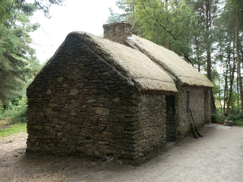 Ulster American Folk Park. Omagh, County Tyrone