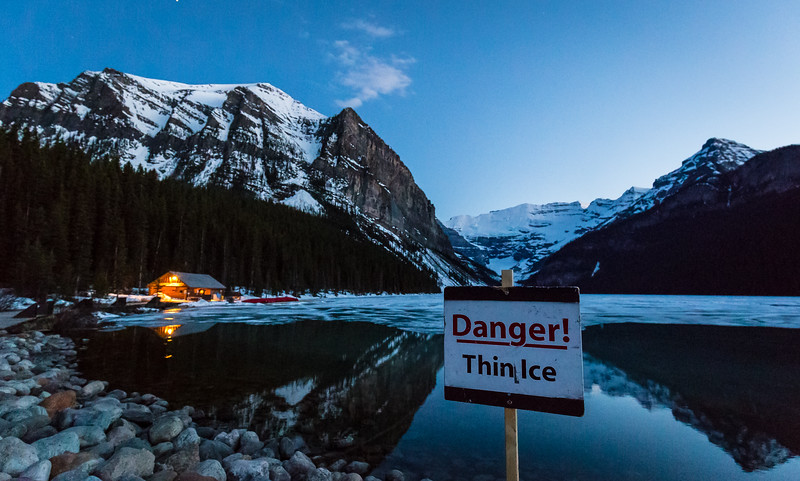 Danger! Thin Ice