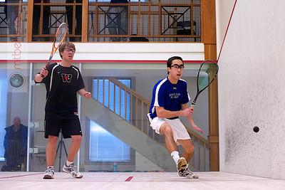 2012-01-21 Daniel Sneed (Wesleyan) and Martin Bawden (Hamilton)