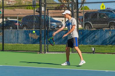 2019-04-13 Dixie HS Tennis - Brandon Snow