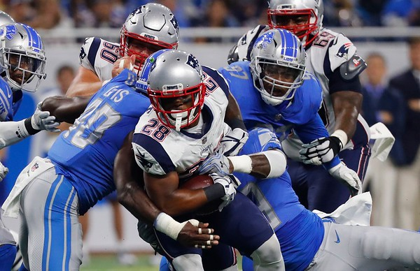 Patriots vs. Lions, 082517
