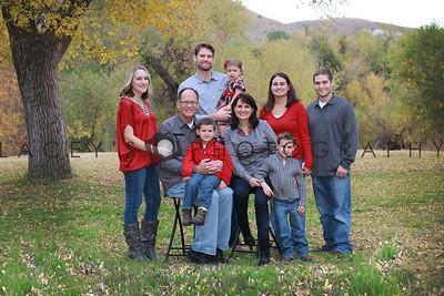 The Trunkey Family 2012