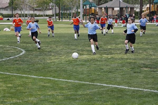 Mikala Soccer Game 3/20/2011