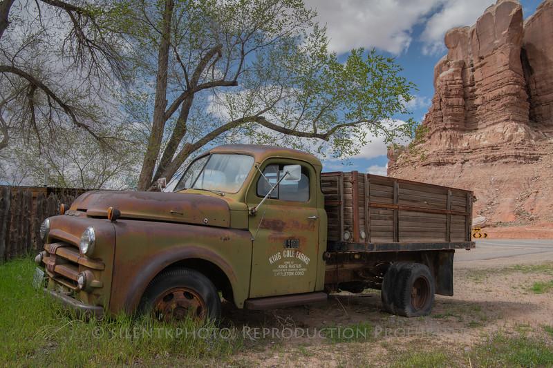Old Truck - Bluff, Utah