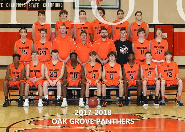 2017-2018 OGHS Boys Basketball