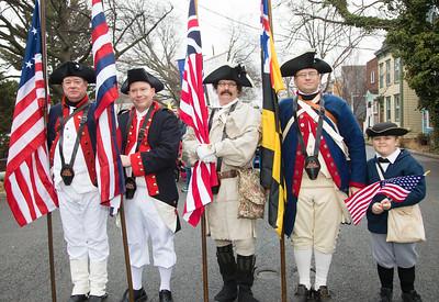 George Washington Birthday Parade 2018 in Alexandria, Virginia