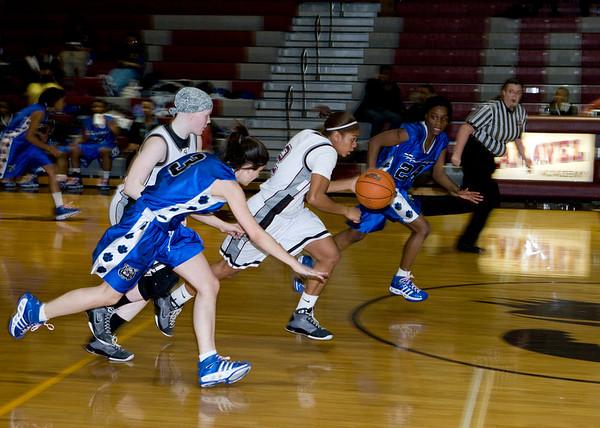 2009 Caravel Academy Girls Basketball vs Howard High School