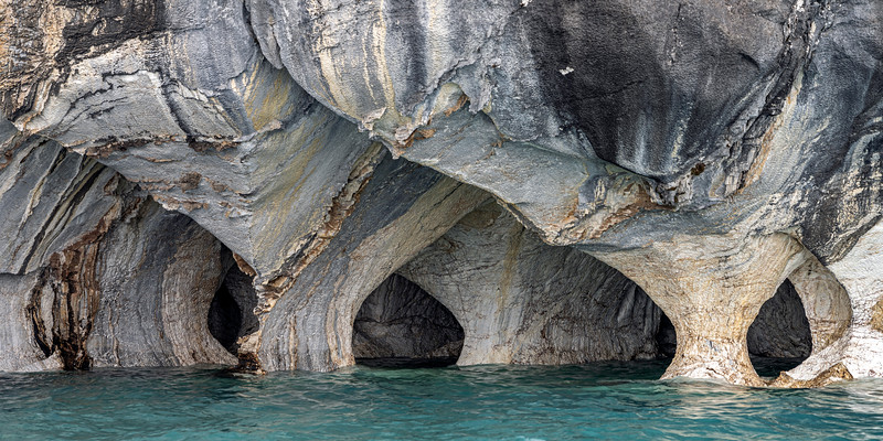 Marble Caves Panorama