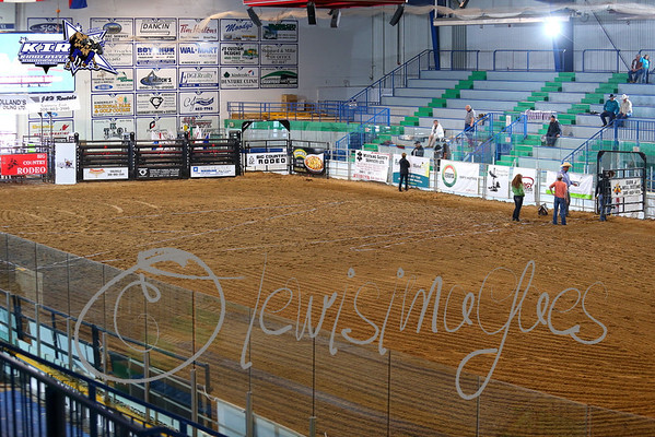 Kindersley Indoor Rodeo 2014 - Thursday