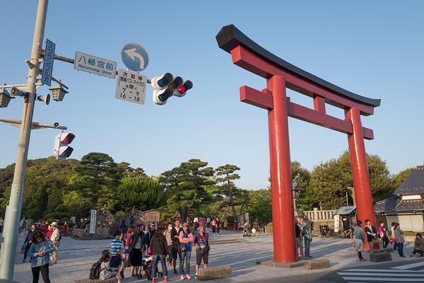 Kamakura Hachimangu temple