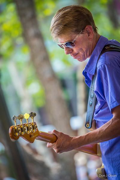 Eric Meyer--Dee Miller Band--Lowertown Blues Festival 2015-Mears Park-St. Paul MN