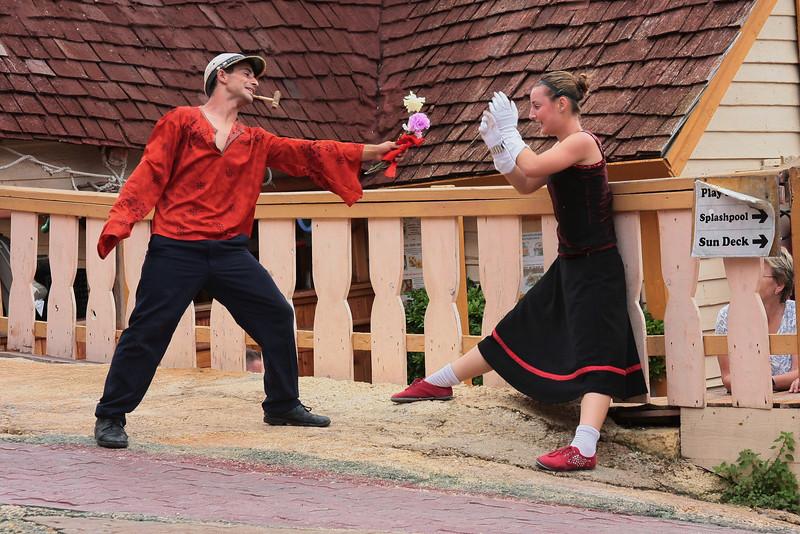 Popeye Village live show