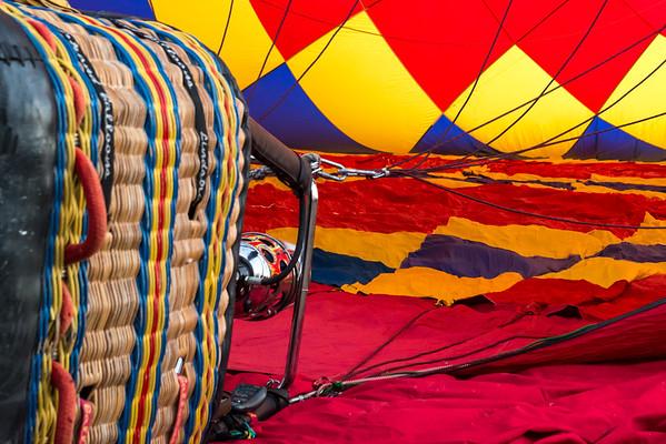 Hot Air Balloon Launch Mansfield Dam