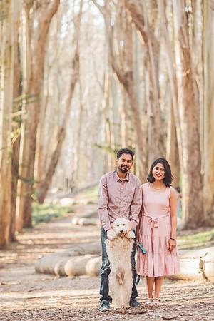 Aishwarya + Rajesh + Coco