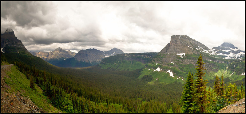 Maple Expedition Bike Tour, Day 4 - Ride through Glacier National Park