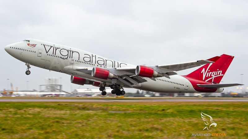 Virgin Atlantic Boeing B747-400 G-VBIG