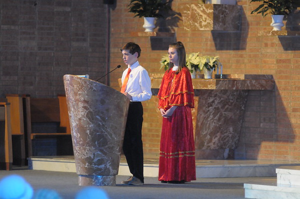 Mater Dei holds annual Christmas Pageant at St. Stanislaus Church