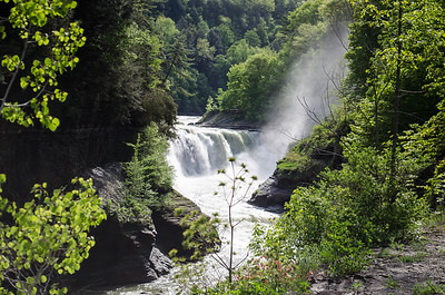 May 2014 Letchworth State Park Balloon Fest