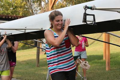 Crew Practicing for Regatta Sept28 2012