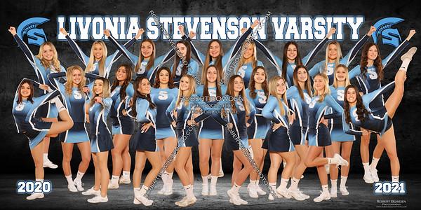 Stevenson Comp Cheer Team 2020-21