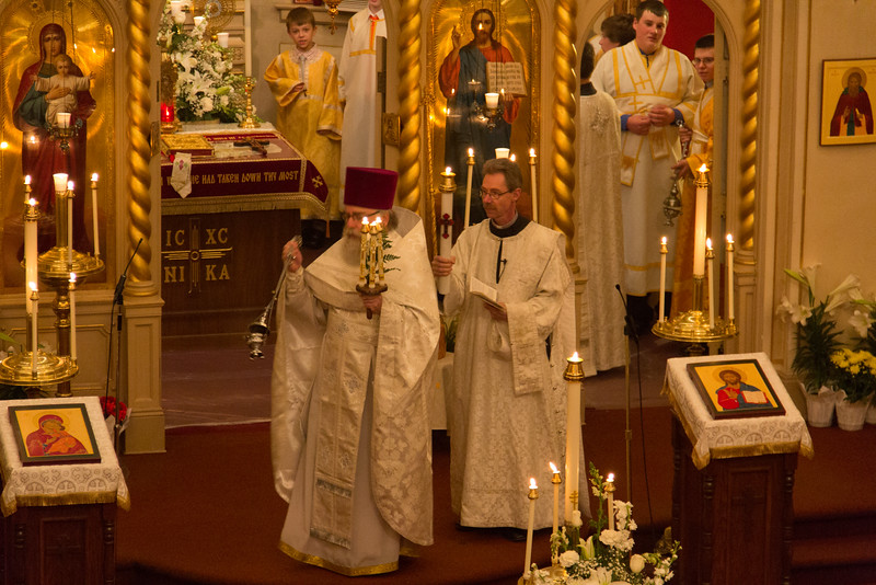 Paschal Matins and Liturgy 2015