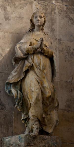 Troyes Saint-Pantaleion Church, The Virgin in Prayer