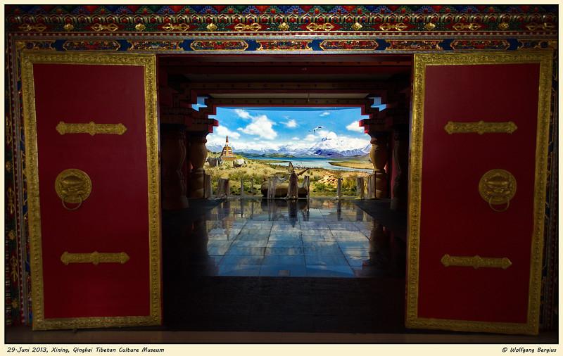 29. Juni 2013, Qinghai Tibetan Culture Museum in Xining